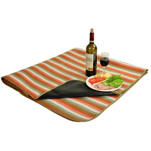 Picnic at Ascot Fleece Picnic Blanket with Tote