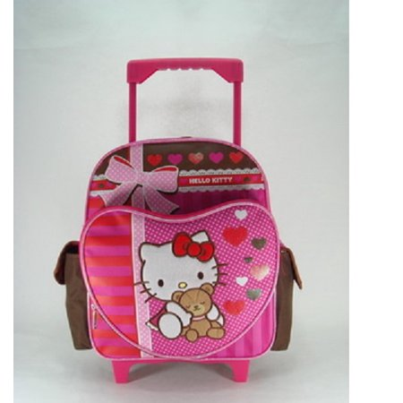 Small Rolling Backpack - - Super Sweet New Bag Girls Book 630348