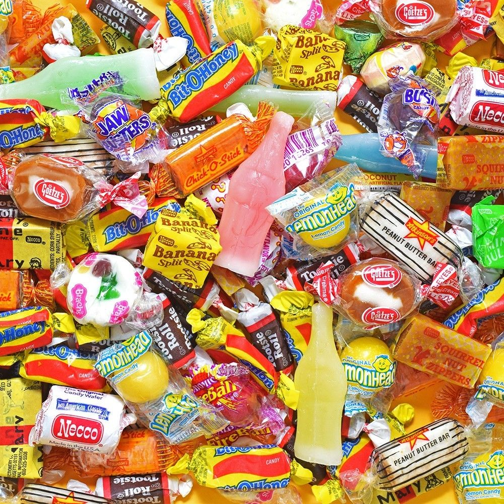 BAYSIDE CANDY PINATA CANDY FILLER ASSORTED , 1LB