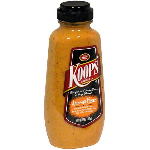 Koops' Arizona Heat Mustard, 12 oz (Pack of 12)