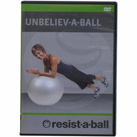 Resist-A-Ball Unbeliev-A-Ball Stability Ball Workout DVD (Ball Exercise Dvd)