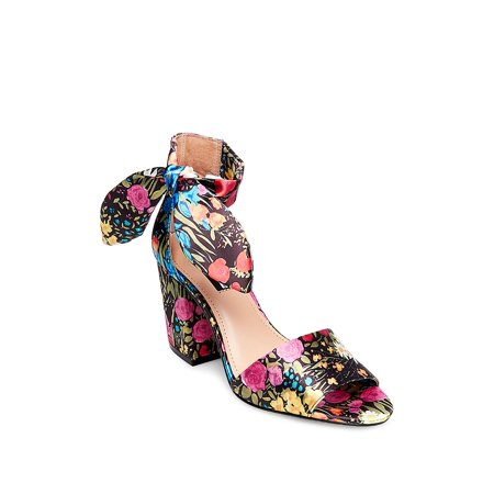 Betsey Johnson Ankle Strap Sandals (Oni Floral Ankle Strap)