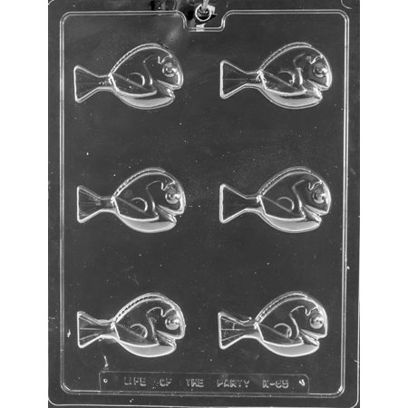 Blue Tang Fish Finding Dory Chocolate Mold Soap Birthday Party Favor Mould m258 (Fish Party Favors)