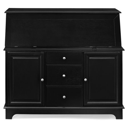 Bookcase Secretary Desk - Crosley Furniture Sullivan Secretary Desk, Multiple Colors