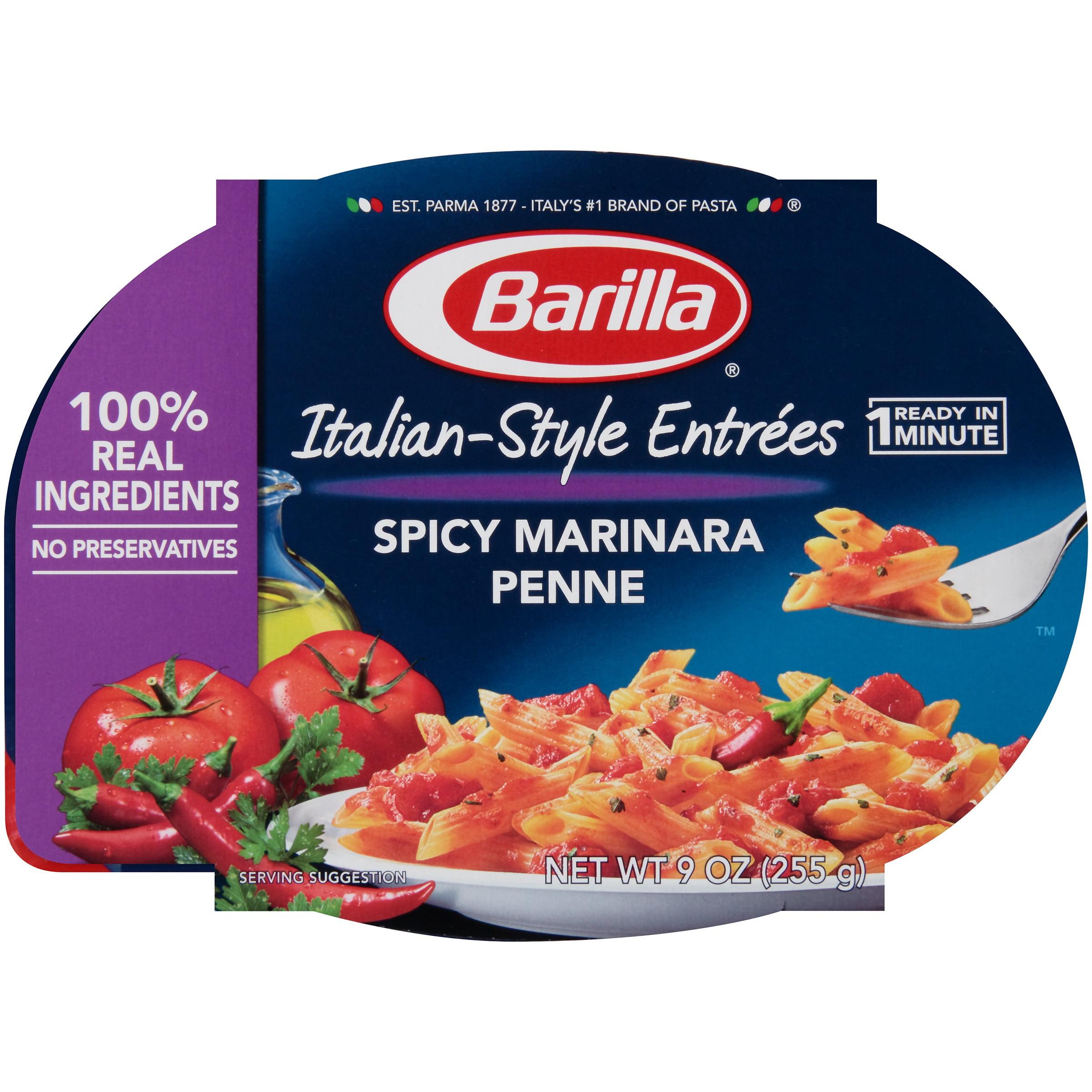 Barilla Italian-Style Entrées Spicy Marinara Penne Pasta, 9 oz by Barilla America, Inc.
