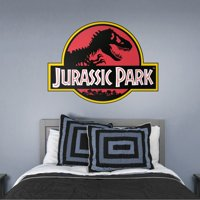 Fathead Jurassic Park: Classic Logo - Giant Officially Licensed Removable Wall Decal