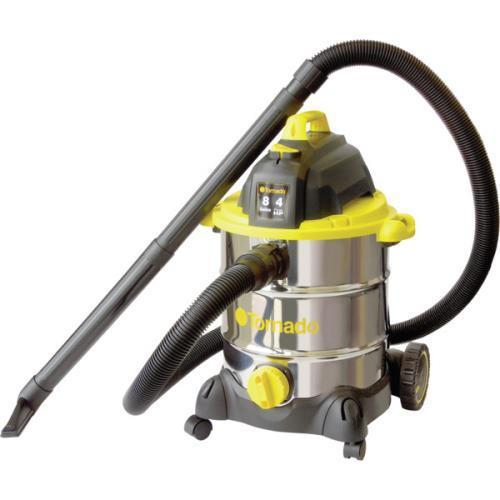 Tornado 8 Gallon Stainless Steel Wet Dry Vacuum With Accessories