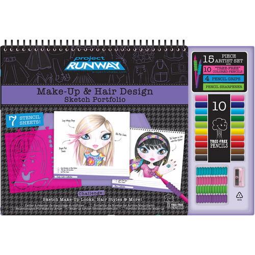 Project Runway Makeup Design Sketch Por Walmartcom