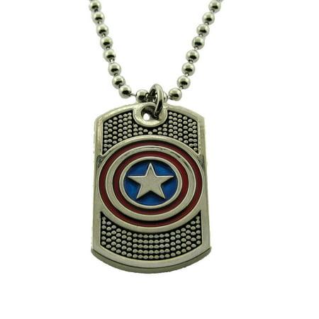 The Last Halloween Comic (Captain America Marvel Comic Avengers Pendants Necklace Costume Halloween)