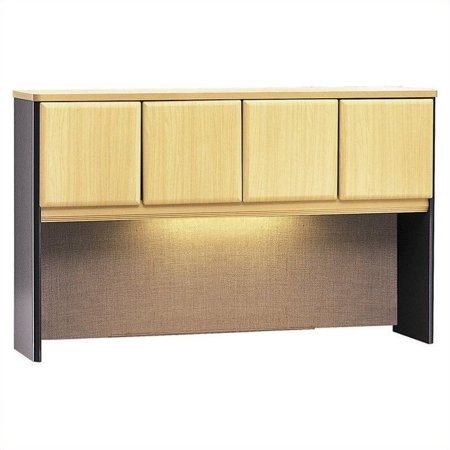 Bush Business Furniture Series A Collection 60W Hutch in Beech