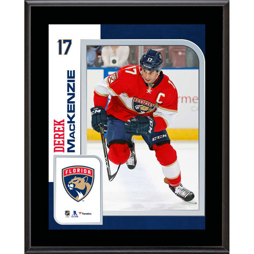 "Derek Mackenzie Florida Panthers 10.5"" x 13"" Sublimated Player Plaque - No Size"