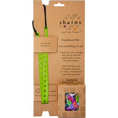 Shains Headband Kit with 45 Elements, Grass
