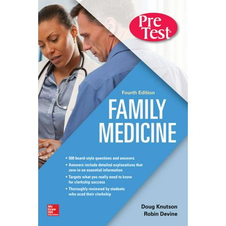 Family Medicine PreTest Self-Assessment And Review, Fourth Edition - eBook  - Walmart com