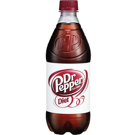 Diet Dr Pepper, 20 fl oz