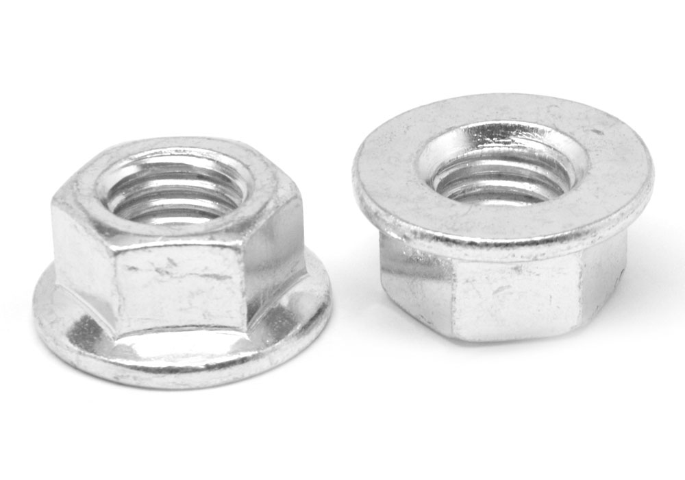"Clipsandfasteners Inc 200 Thread Cutting Nuts 1//8/"" Stud Size 5//16/"" Hex"