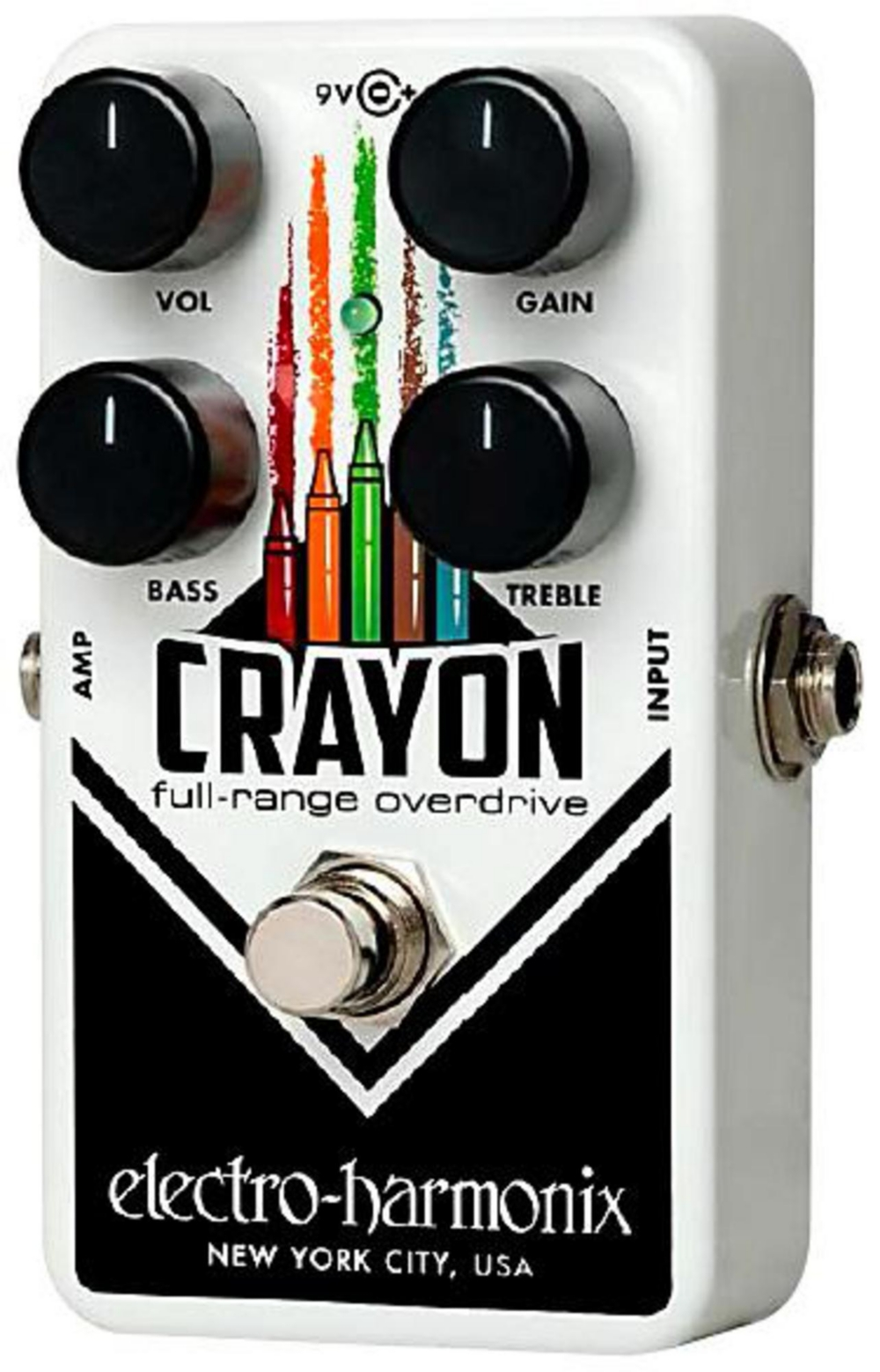 Electro-Harmonix Crayon Distortion Guitar Effect Pedal by Electro-Harmonix