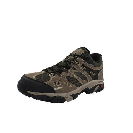 Hi-Tec Men's Ravus Vent Low Waterproof Dark Taupe/Olive Night/Stone Ankle-High Leather Hiking Shoe - 9.5W