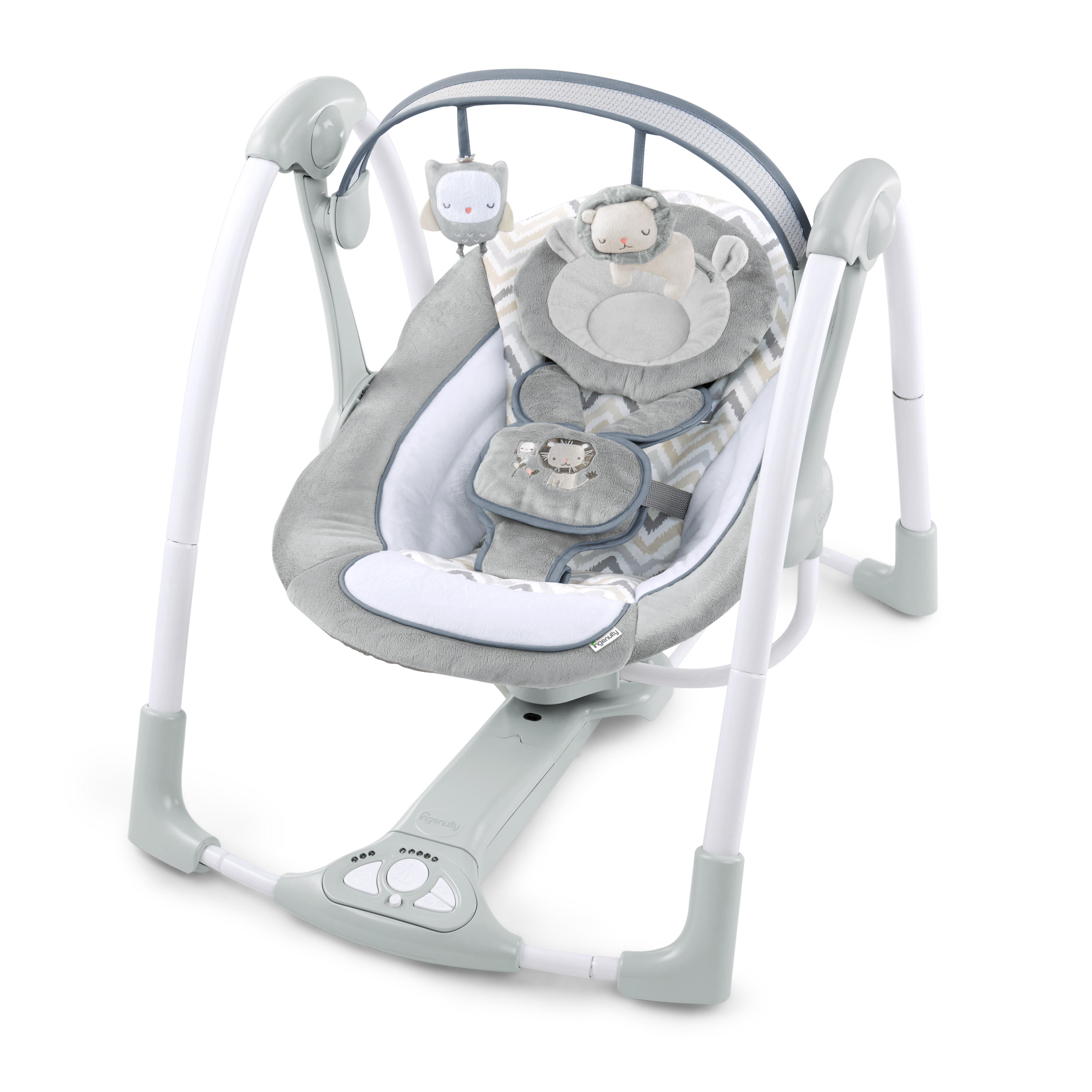 Baby Portable Swing with Power Adaptor in Braden by Ingenuity