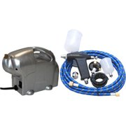 Beginner Sunless Tanning TRIGGER AIRBRUSH AIR COMPRESSOR KIT-Tattoo Tan