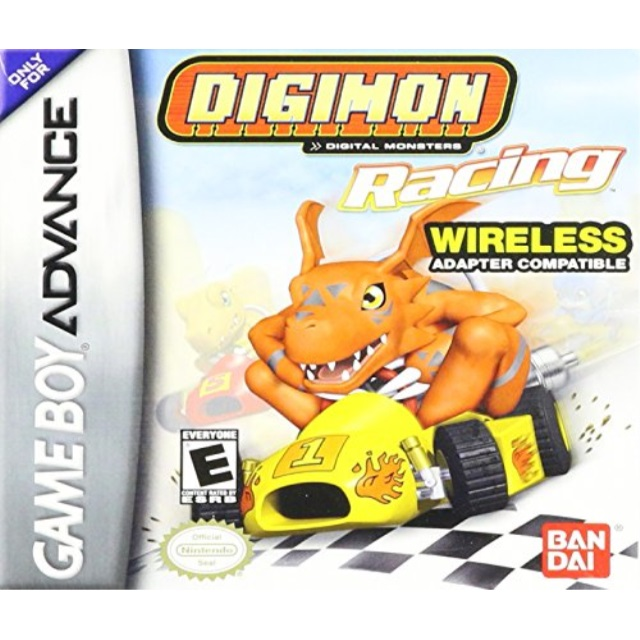 Digimon Racing (Wireless) GBA