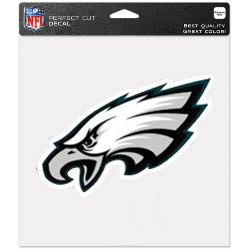 Philadelphia Eagles WinCraft 8'' x 8'' Color Car Decal - No Size