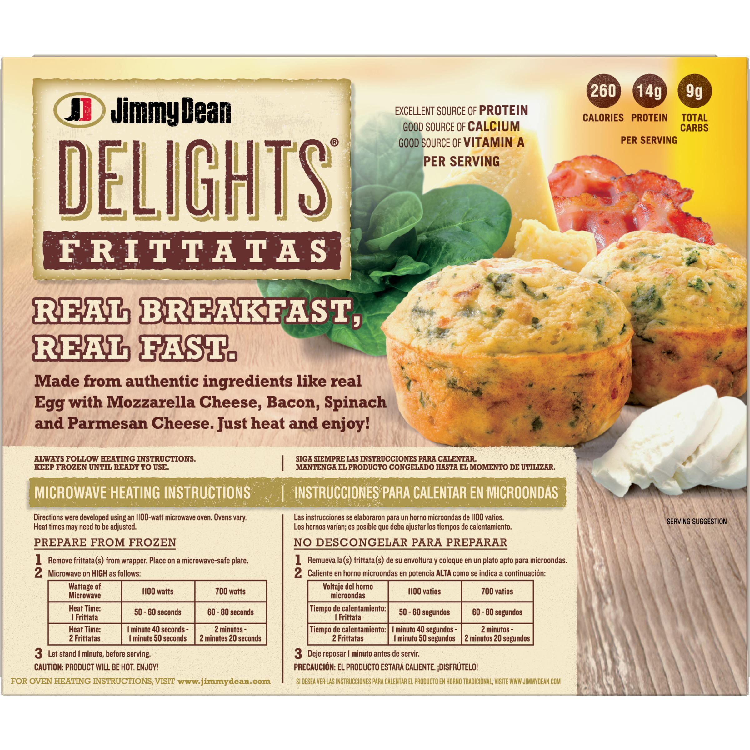 Jimmy Dean Delights® Bacon and Spinach