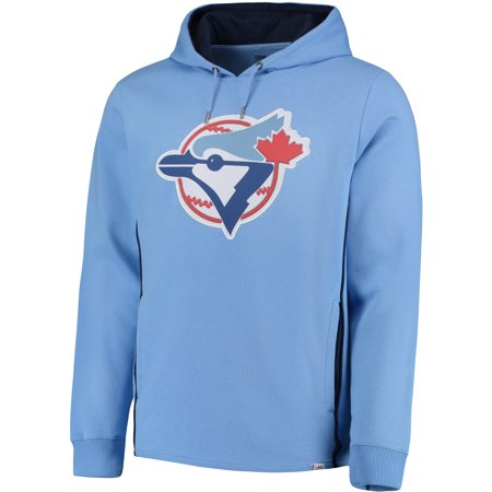 quality design 09367 9486c Men's Majestic Light Blue Toronto Blue Jays Cooperstown Left ...