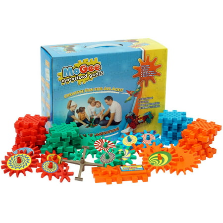 MoGee Motorized Gears Beginner Building Set