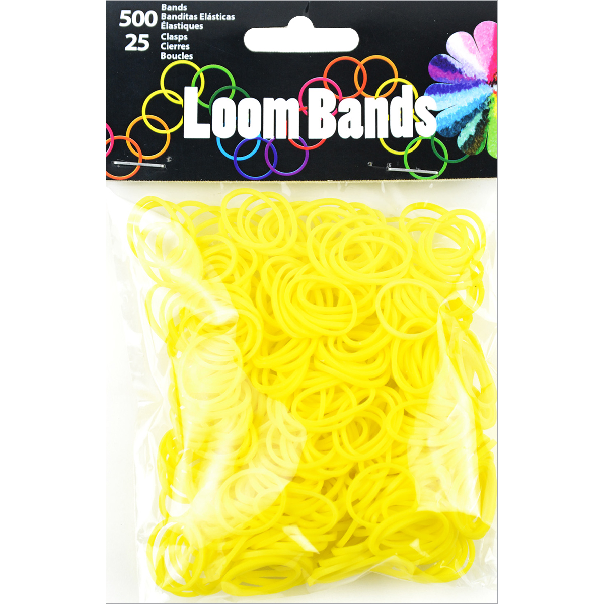 Loom Bands Value Pack, 525-Pack, Yellow