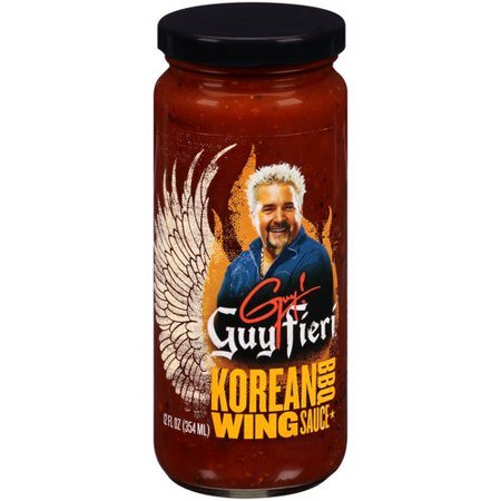 Guy Fieri Korean Bbq Wing Sauce  12 Fl Oz
