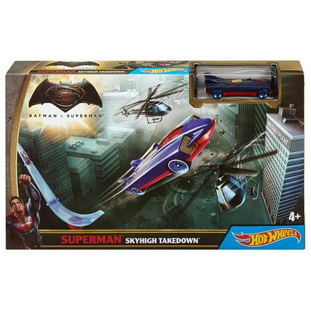 Hot Wheels Batman Vs Superman: Dawn of Justice Superman Skyhigh Takedown Track Set - image 4 of 4