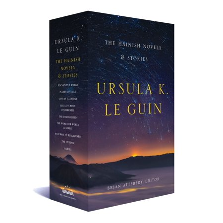 Ursula K. Le Guin: The Hainish Novels and Stories : A Library of America Boxed (Best Ursula Le Guin)