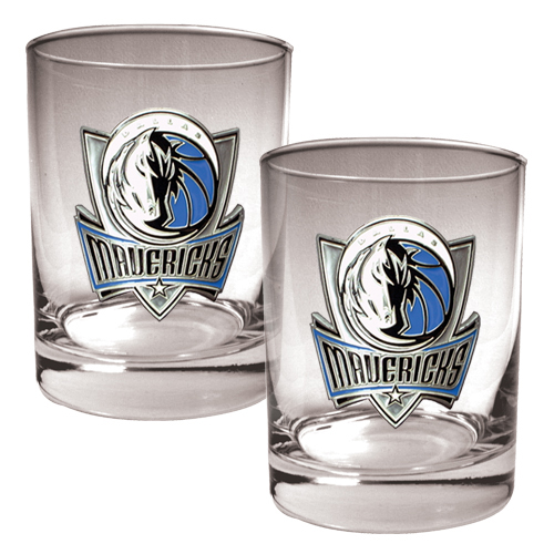 Dallas Mavericks 14oz. Rocks Glass Set - No Size