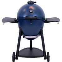Char-Griller AKORN Kamado Charcoal Kooker, Sapphire Blue