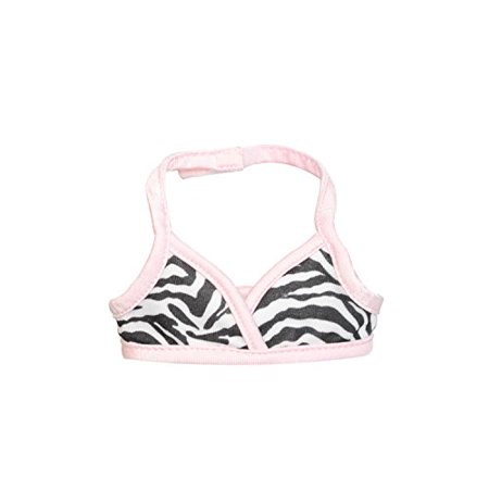 Pink Butterfly Closet Doll Clothes - 3 Pieces Bikini Swimsuit (Skit, Top and Beach Blanket) Set Fits American Girl Doll and 18 inch Dolls - - image 2 of 4