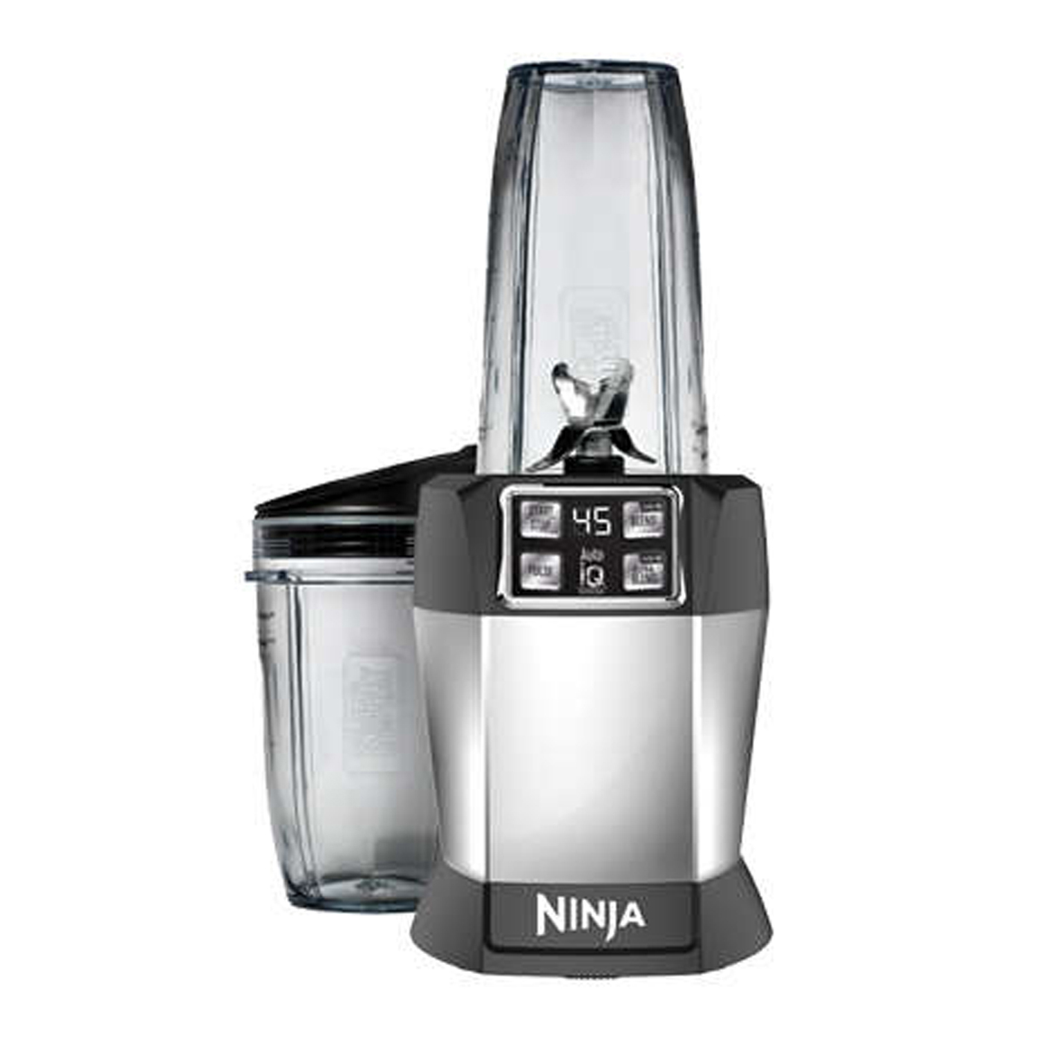 Refurbished Nutri Ninja Auto IQ 1-Touch Blender, Bl480D