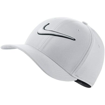 Nike Men s Classic99 Swoosh Golf Hat (White 7691101730c
