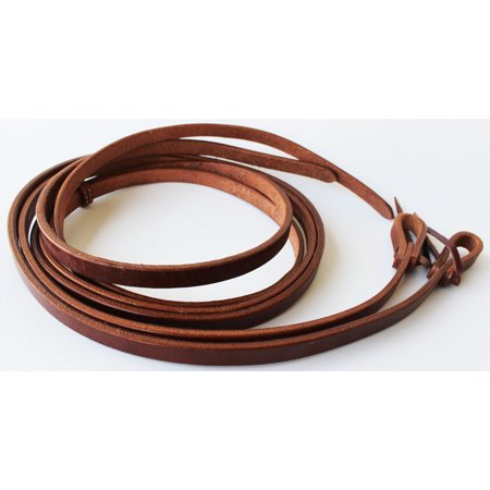Oiled Harness Leather Reins (Horse 7' 4