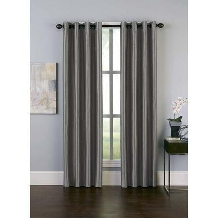 "132""x50"" Malta Room Darkening Curtain Panel Teal - Curtainworks"