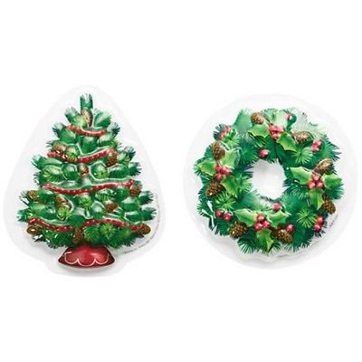 Christmas Tree and Wreath Cake Pop Top Topper - National Cake (Best Christmas Cake Pops)