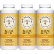 Burt's Bees Baby 100% Natural Dusting Powder, Talc-Free Baby Powder - 7.5 Ounce Bottle (Pack of 3) Multi-Pack