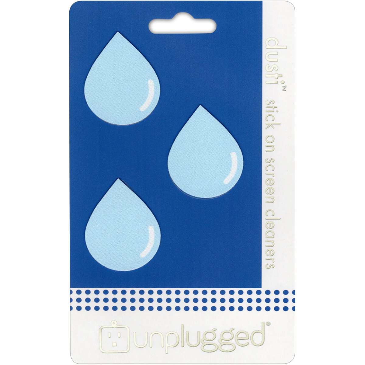 Dusti Reusable Screen Cleaner 3/Pkg-Droplet