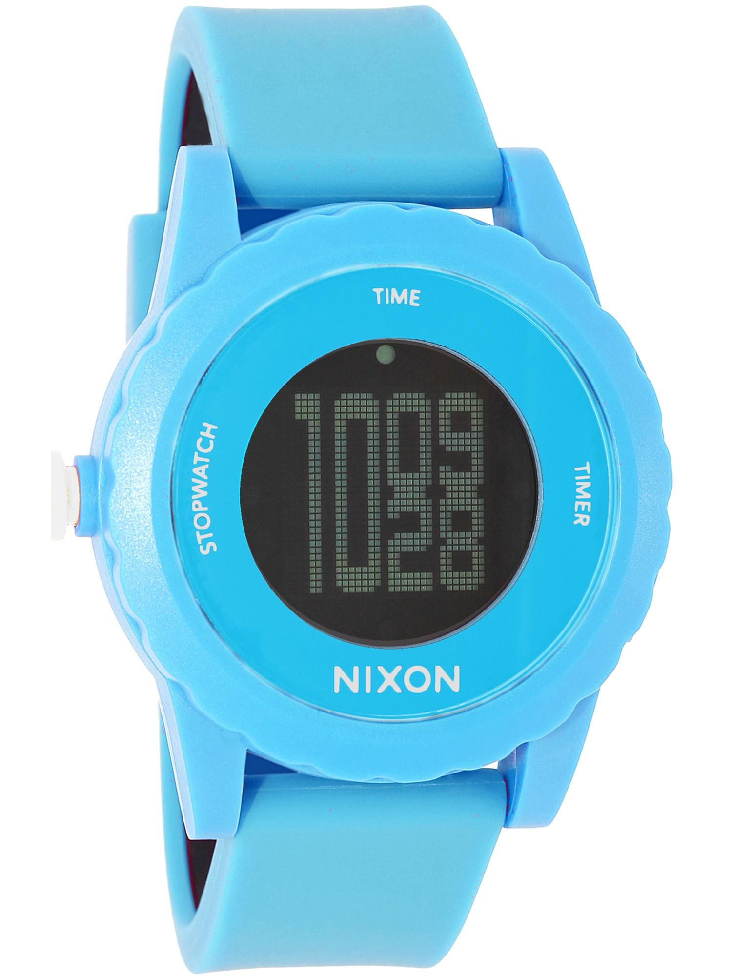 Women's Genie A326917 Blue Silicone Quartz Watch