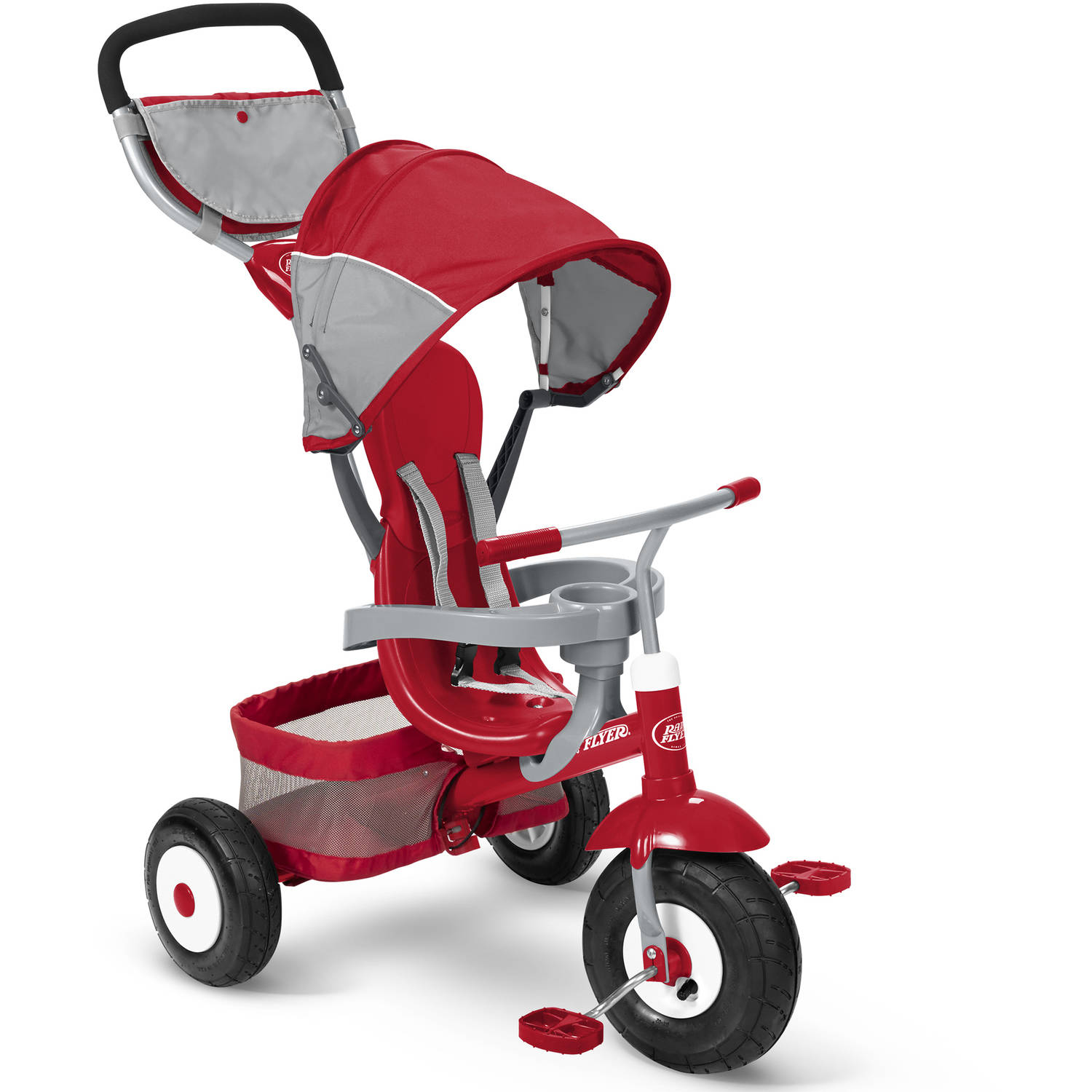 Radio Flyer Deluxe All Terrain Stroll `N Trike by Radio Flyer Inc