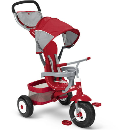 Radio Flyer Deluxe All Terrain Stroll `N Trike