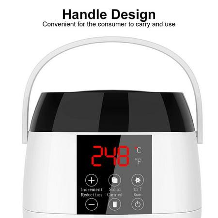 Garosa Intelligent Wax Depilatory Heater Set Hair Removal Wax Warmer Wax Beans Applicator Sticks Kit,Depilatory Heater, Hair Removal Wax Warmer - image 6 de 10