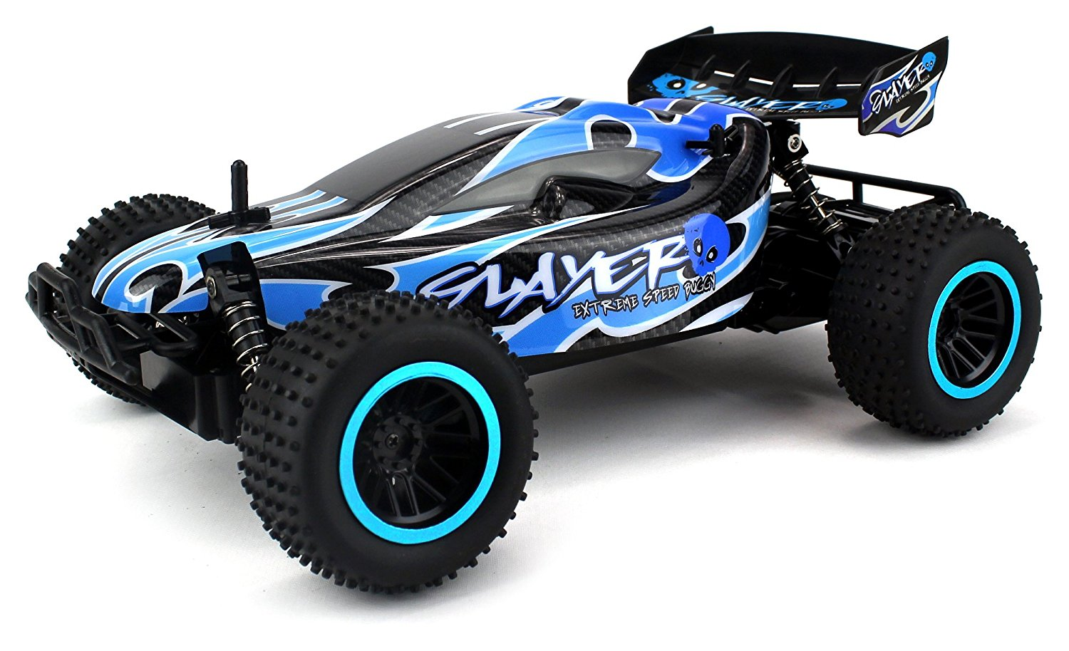 Skull Slayer Remote Control RC Buggy Car 2.4 GHz PRO System 1:12 Scale Size RTR w  Working Suspension, Spring... by Velocity Toys