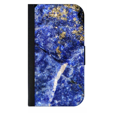 the best attitude 74c17 d7648 Blue Stalcite Stone Print - Phone Case Compatible with the Samsung Galaxy  s9 - Wallet Style with Card Slots