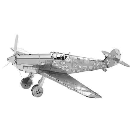 Fascinations Metal Earth Messerschmitt Bf-109 Airplane 3D Metal Model Kit Model Airplane Servo