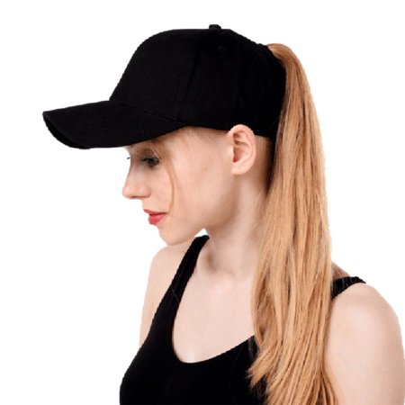 7e065129dae Nicesee - Nicesee Cotton Ponytail Baseball Cap Sport Sun Hats - Walmart.com